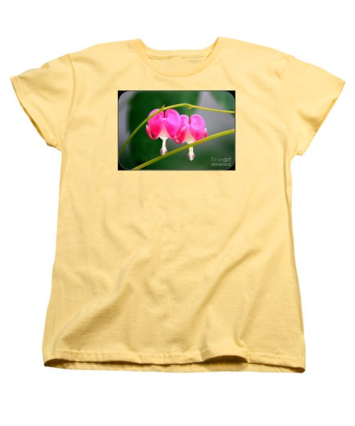 Women's T-Shirt (Standard Cut) featuring the photograph Two Of Hearts by Patti Whitten