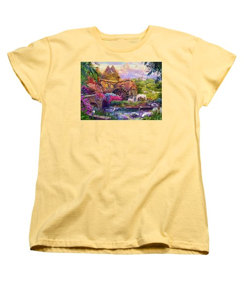 Women's T-Shirt (Standard Cut) featuring the photograph Light Palace by Jan Patrik Krasny