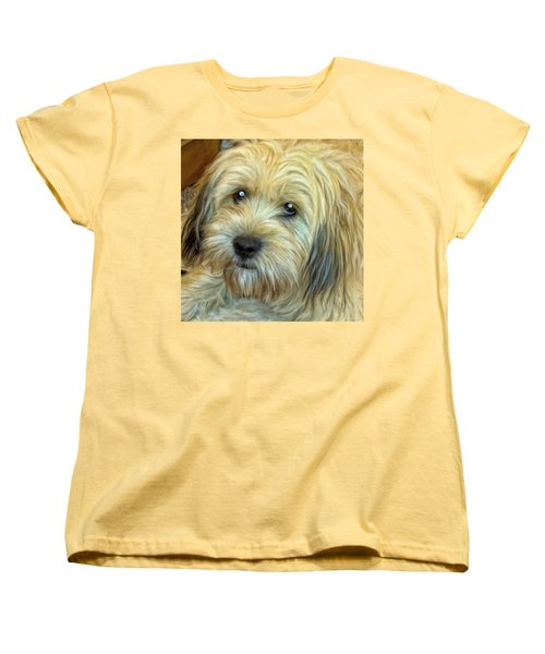 Chewy Women's T-Shirt (Standard Cut) by Michael Pickett