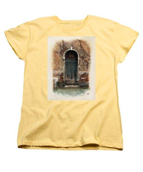 Venetian Door 01 Elena Yakubovich Women's T-Shirt (Standard Cut) by Elena Yakubovich