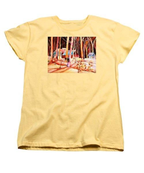 Vermont Maple Syrup Women's T-Shirt (Standard Cut) by Carole Spandau