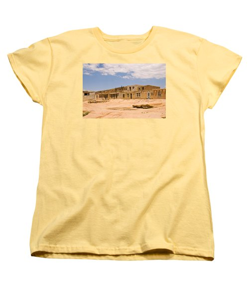 View From The Square Women's T-Shirt (Standard Cut) by James Gay