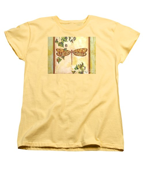 Vineyard Dragonfly Women's T-Shirt (Standard Cut)