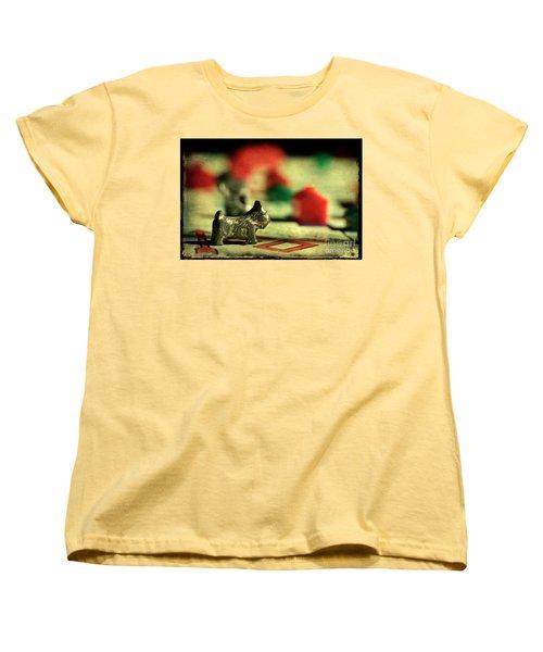 Vintage Monopoly Women's T-Shirt (Standard Cut) by Michael Eingle
