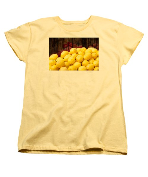 Vitamin C Women's T-Shirt (Standard Cut) by Gunter Nezhoda