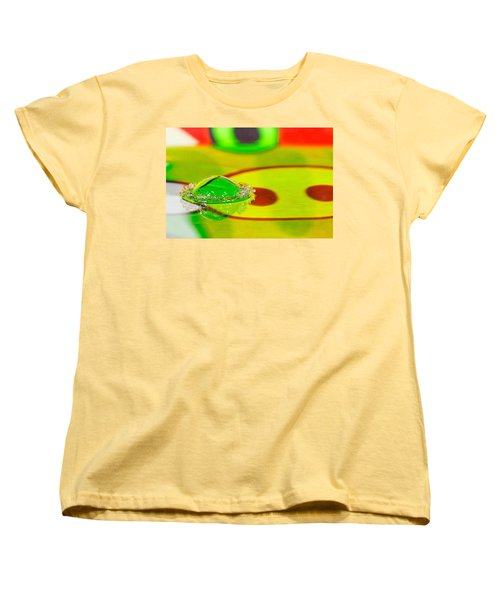 Women's T-Shirt (Standard Cut) featuring the photograph Water Crown by Peter Lakomy