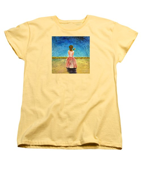 Where Angels Sleep Women's T-Shirt (Standard Cut) by Therese Alcorn