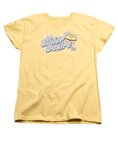 White Castle - Slider Desire Women's T-Shirt (Standard Cut) by Brand A