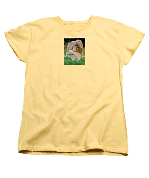 How About A Nibble My Love Women's T-Shirt (Standard Cut) by Venetia Featherstone-Witty