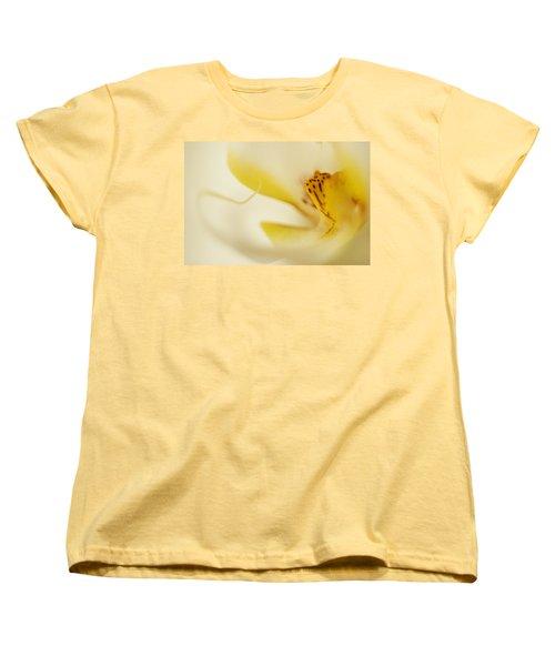 Yellow Orchid Women's T-Shirt (Standard Cut)