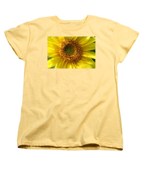 Women's T-Shirt (Standard Cut) featuring the photograph Yellow Sunshine by Neal Eslinger
