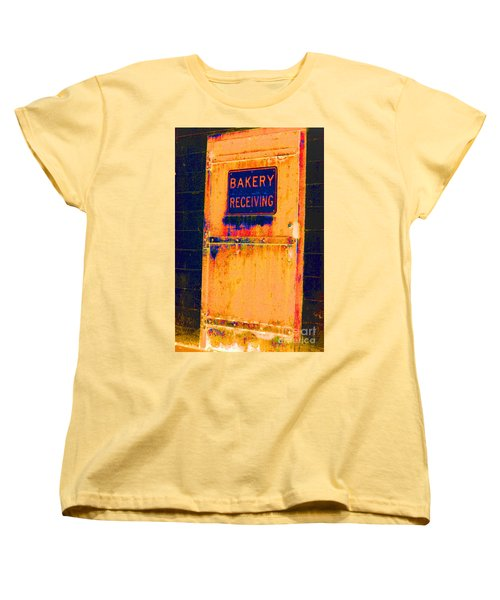 Women's T-Shirt (Standard Cut) featuring the photograph Yesterday's Bread by Christiane Hellner-OBrien