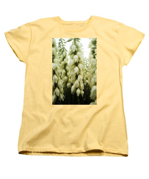 Yucca Forest Women's T-Shirt (Standard Cut) by Steven Milner
