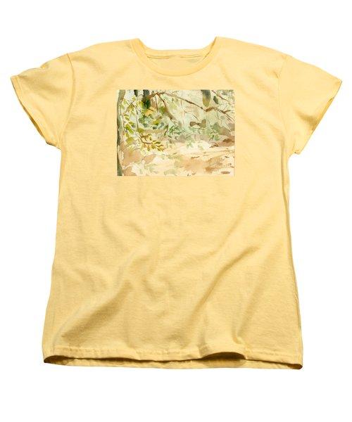 The Breeze Between Women's T-Shirt (Standard Cut) by Daun Soden-Greene