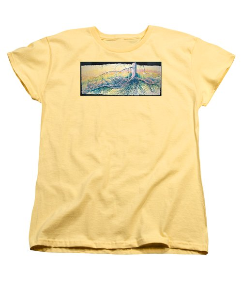 Rooted In Time Women's T-Shirt (Standard Cut) by Carolyn Rosenberger