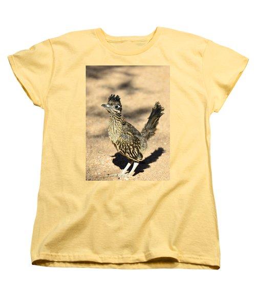 A Baby Roadrunner  Women's T-Shirt (Standard Cut) by Saija  Lehtonen
