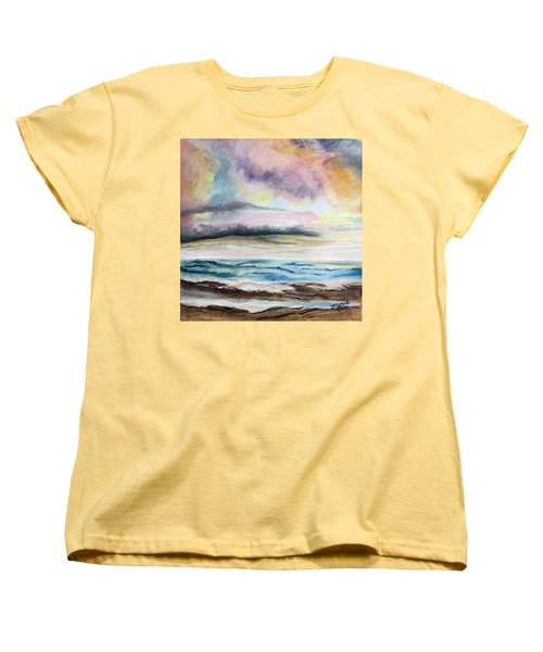 Afternoon Sky Women's T-Shirt (Standard Cut) by Maris Sherwood