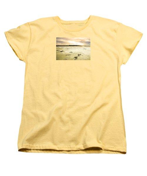At Caroline Bay Timaru New Zealand Women's T-Shirt (Standard Cut) by Nareeta Martin