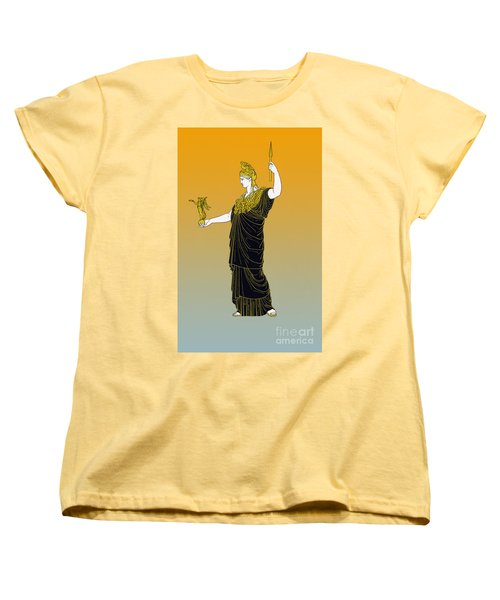 Athena, Greek Goddess Women's T-Shirt (Standard Cut) by Photo Researchers