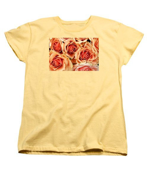 Bergen Roses Women's T-Shirt (Standard Cut) by KG Thienemann