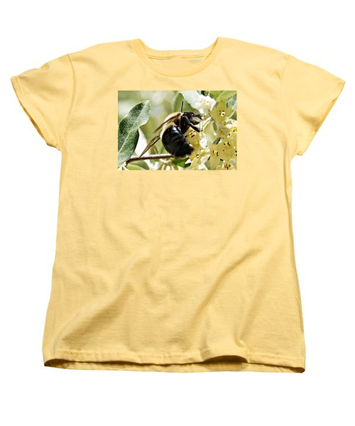 Busy As A Bee Women's T-Shirt (Standard Cut) by Joe Faherty
