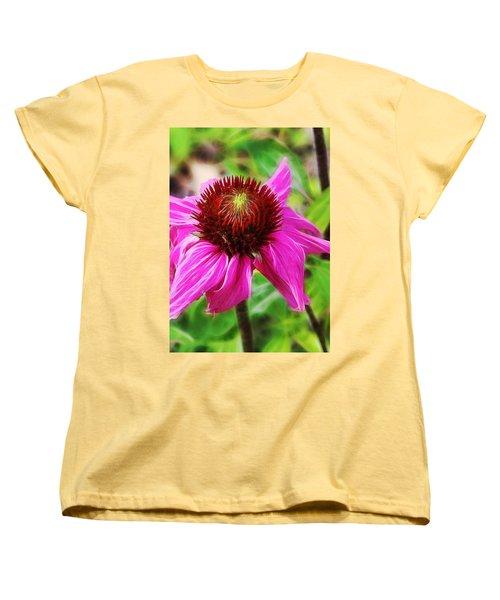 Coneflower Women's T-Shirt (Standard Cut) by Judi Bagwell