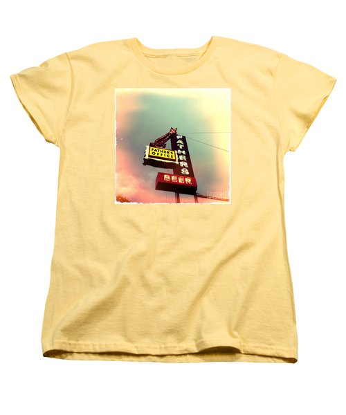 Father's Office Beer Women's T-Shirt (Standard Cut) by Nina Prommer