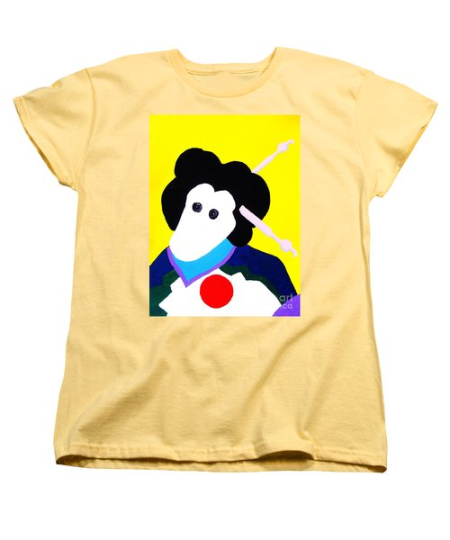 Festival Doll With Shoe Button Eyes Women's T-Shirt (Standard Cut) by Roberto Prusso