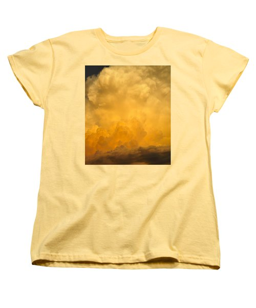 Fire In The Sky Fsp Women's T-Shirt (Standard Cut)