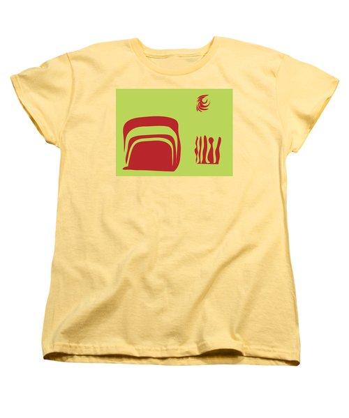Fire Spirit Cave Women's T-Shirt (Standard Cut) by Kevin McLaughlin