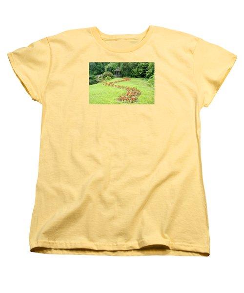Gazebo Women's T-Shirt (Standard Cut) by Richard Bryce and Family