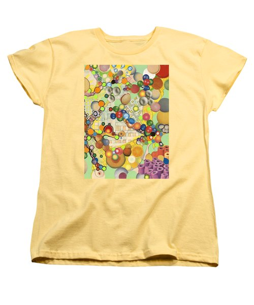 Women's T-Shirt (Standard Cut) featuring the mixed media Globious Maximous by Douglas Fromm