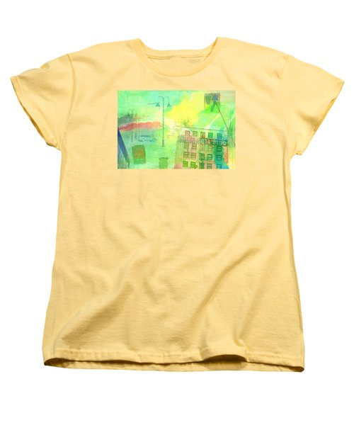 Going Places Women's T-Shirt (Standard Cut) by Susan Stone