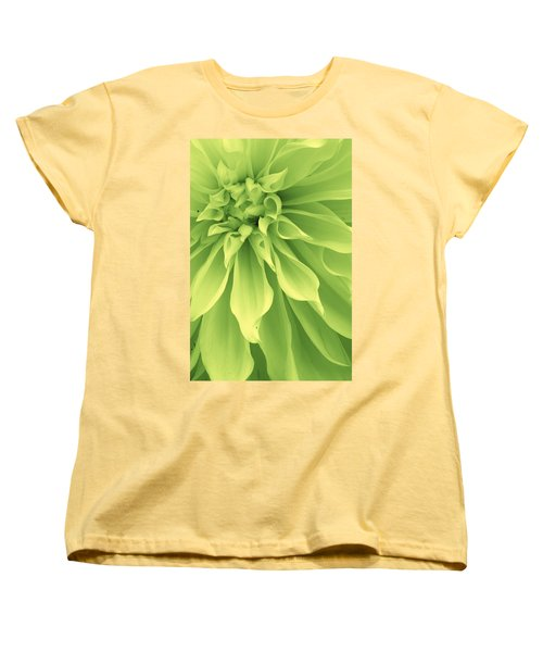 Green Sherbet Women's T-Shirt (Standard Cut) by Bruce Bley