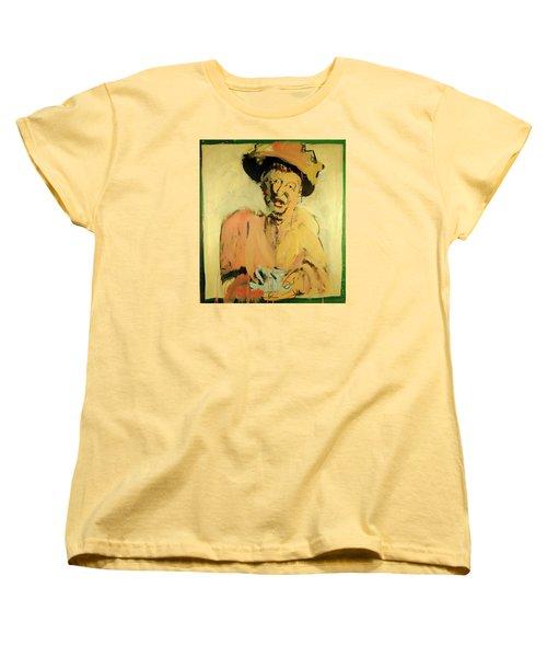 Gretchen Colnik Women's T-Shirt (Standard Cut) by Les Leffingwell
