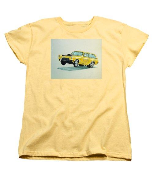Lift Off Women's T-Shirt (Standard Cut) by Stacy C Bottoms