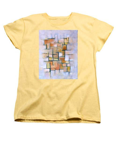 Line Series Women's T-Shirt (Standard Cut) by Patricia Cleasby