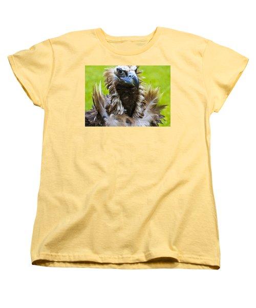 Monk Vulture 4 Women's T-Shirt (Standard Cut) by Heiko Koehrer-Wagner