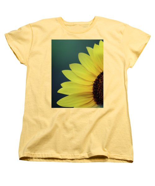 Women's T-Shirt (Standard Cut) featuring the photograph Pedals Of Sunshine by Cathie Douglas