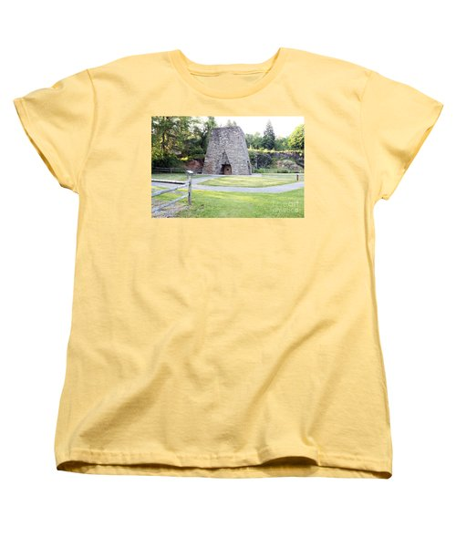Women's T-Shirt (Standard Cut) featuring the photograph Pine Grove Furnace State Park by Tony Cooper