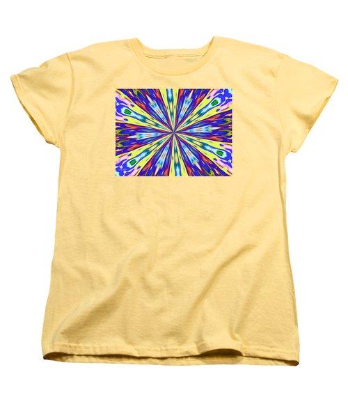 Rainbow In Space Women's T-Shirt (Standard Cut) by Alec Drake