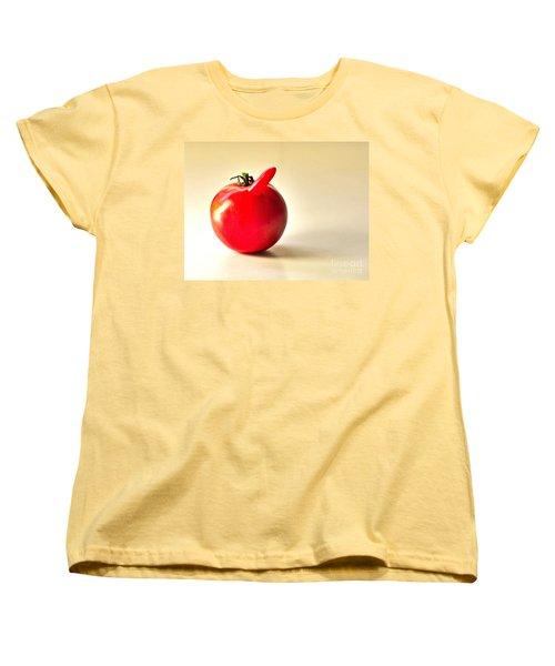 Saucy Tomato Women's T-Shirt (Standard Cut) by Sean Griffin