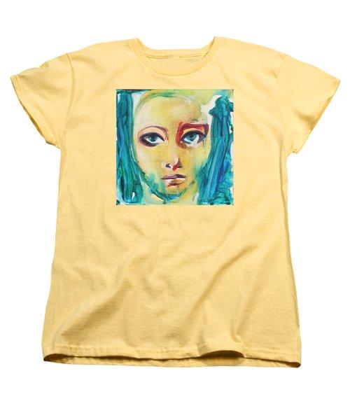 Self Portrait I  Women's T-Shirt (Standard Cut) by Sheridan Furrer