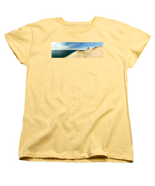Sleeping Bear Dunes Women's T-Shirt (Standard Cut) by Larry Carr