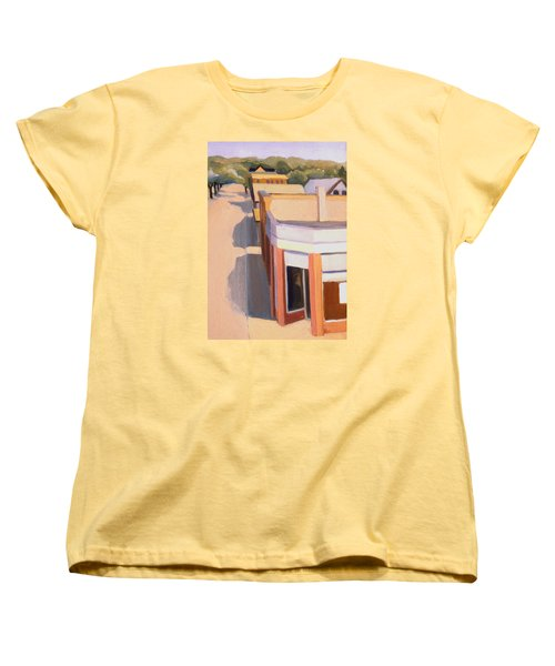 Stoneham Square Three 1979 Women's T-Shirt (Standard Cut) by Nancy Griswold