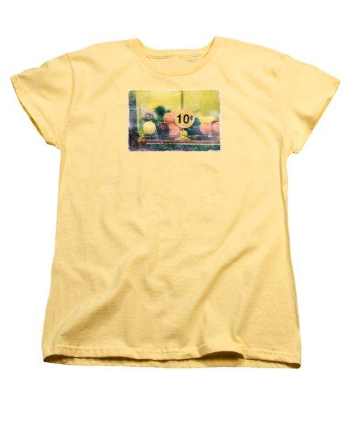 Women's T-Shirt (Standard Cut) featuring the photograph Ten Cent Candy by Toni Hopper