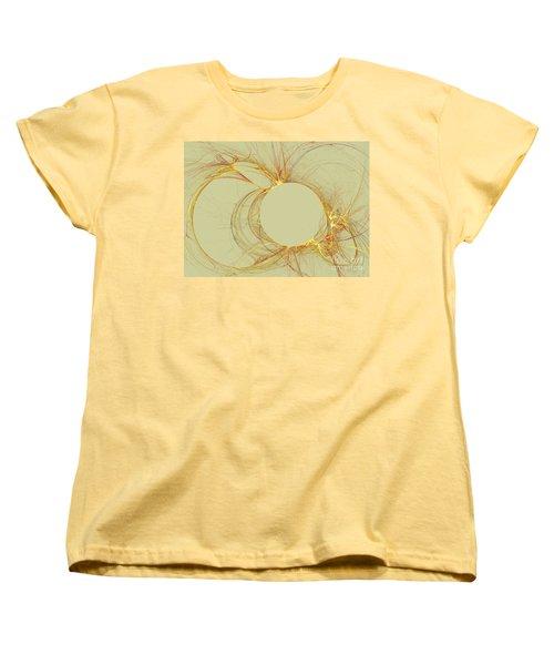 Women's T-Shirt (Standard Cut) featuring the digital art The Arcs by Kim Sy Ok