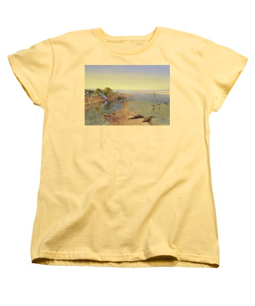 The Ganges Women's T-Shirt (Standard Cut) by William Crimea Simpson