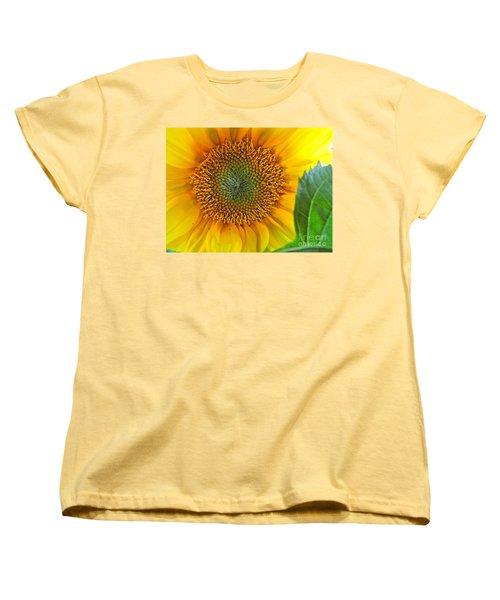 The Last Sunflower Women's T-Shirt (Standard Cut) by Sean Griffin