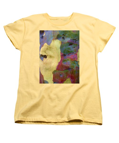 The True Colors Of A Tree Women's T-Shirt (Standard Cut) by Robert Margetts